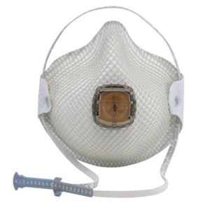 Moldex N95 Disposable Particulate Respirator With Ventex Exhalation Valve (10 Disposable Particulate Respirators - Pack)