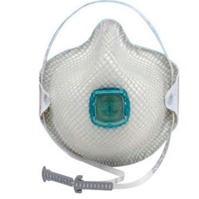 Moldex Medium/Large N100 Disposable Particulate Respirator With Ventex Exhalation Valve