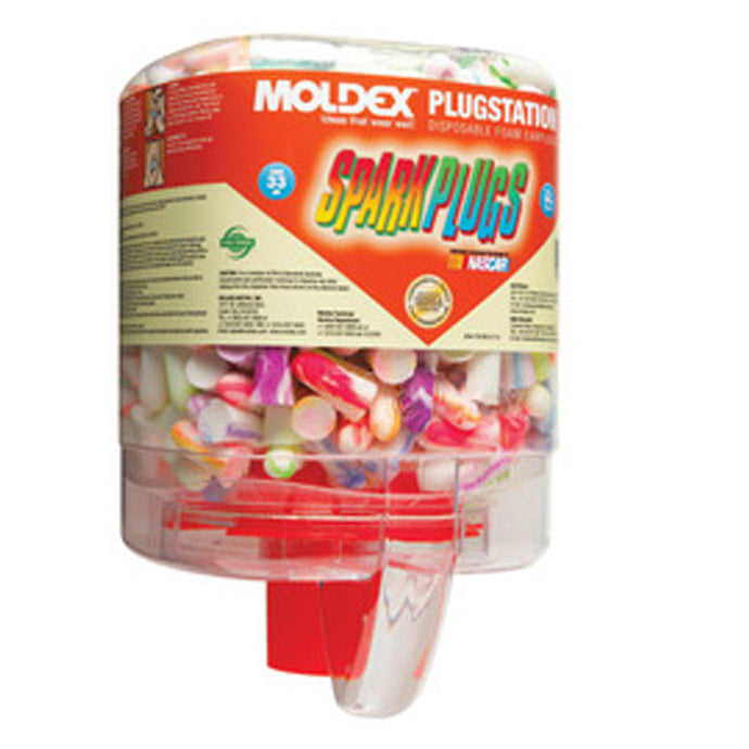Moldex - PlugStation - Earplug Dispenser Single Use SparkPlug Foam Earplugs