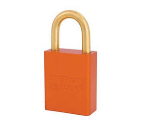 Orange 1 Anodized Alum Lock Keyed Alike
