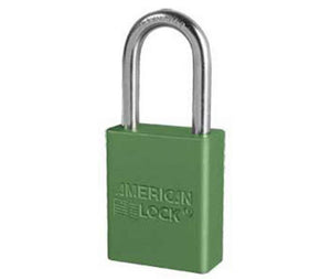 Green 1.5 Anodized  Alum Lock Keyed Alike
