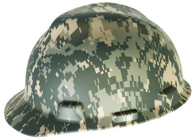 MSA Camouflage V-Gard Freedom Series Hard Cap With Fas-Trac Suspension