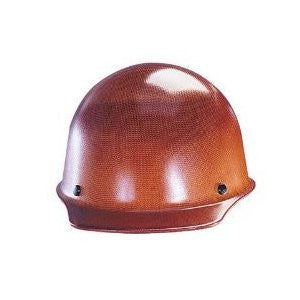 MSA - Natural Tan Skullgard - Class G Type I Hard Cap With Fas-Trac Suspension