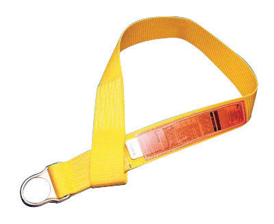 MSA 5' Polyester Anchorage Connector Strap With D-Ring And Sewn Loop