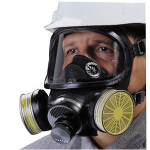 MSA Duo-Twin Series Full Face Air Purifying Respirator