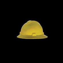 Load image into Gallery viewer, MSA V-Gard Full Brim Hard Hat With Fas-Trac Suspension