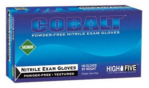 High Five - Cobalt Nitrile Exam Gloves - Case
