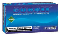 High Five - Cobalt Nitrile Exam Gloves