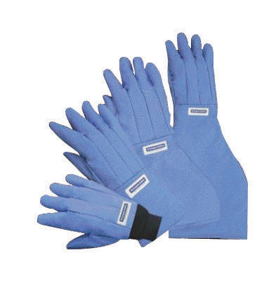 National Safety Apparel Size 9 Olefin And Polyester Lined Nylon Taslan And PTFE Wrist Length Water Resistant Cryogen Gloves
