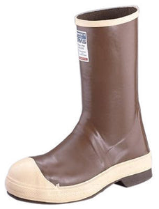 "Servus By Honeywell Size 8 Neoprene III Copper Tan 12"" Neoprene Boots With Neo-Grip Outsole, Steel Toe And Breathe-O-Prene Removable Insole"