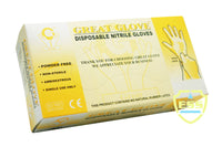 Great Glove - Nitrile Powder-free Gloves - Box