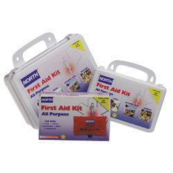 North By Honeywell Plastic 25 Person General Purpose Portable First Aid Kit