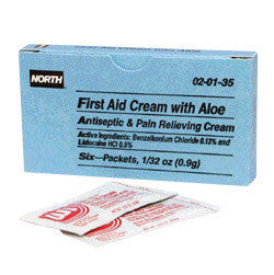 North By Honeywell 0.9 Gram Unit Dose Foil Pack First Aid Burn Cream With Aloe