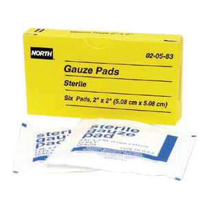 "North By Honeywell 2"" X 2"" Latex-Free Sterile Gauze Pad"