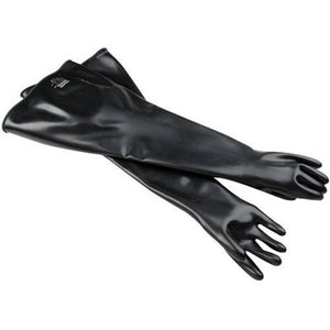 "North By Honeywell Size 10 1/2 Black 32"" 30 mil Neoprene Multi-Dipped Hand Specific Chemical Resistant Gloves With Smooth Finish"