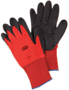 North by Honeywell Size 11 NorthFlex 15 Gauge Abrasion Resistant Red PVC Palm And Fingertip Coated Work Gloves With Red Nylon Liner And Knit Wrist