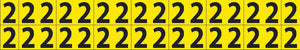 Self-Adhesive Numbers 5/8""