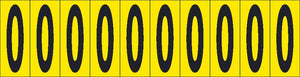 Self-Adhesive Numbers 2""