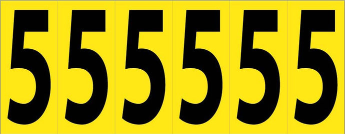 Self-Adhesive Numbers 3