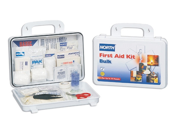 North Safety 25 Person Weatherproof First Aid Kit