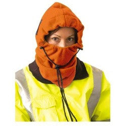 OccuNomix Hi-Viz Orange 3-IN-1 Fleece Balaclava