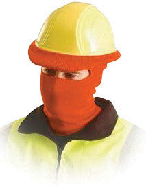 OccuNomix Hi-Viz Orange 100% Polyester Hot Rods Classic Full Face Balaclava Style Tube Liner