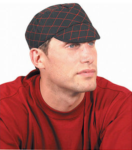 OccuNomix Tuff Nougies Quilted Beanie With Red Stitching