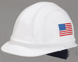 ERB Safety - Omega II American Flag Safety Helmet