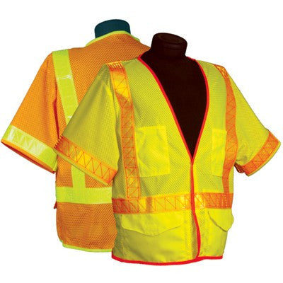 ML Kishigo - Omni Brite Ultra-Cool Mesh Vest with Sleeves, Class 3