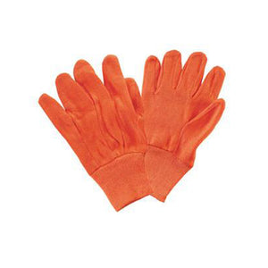 Orange Jersey Gloves - Dozen