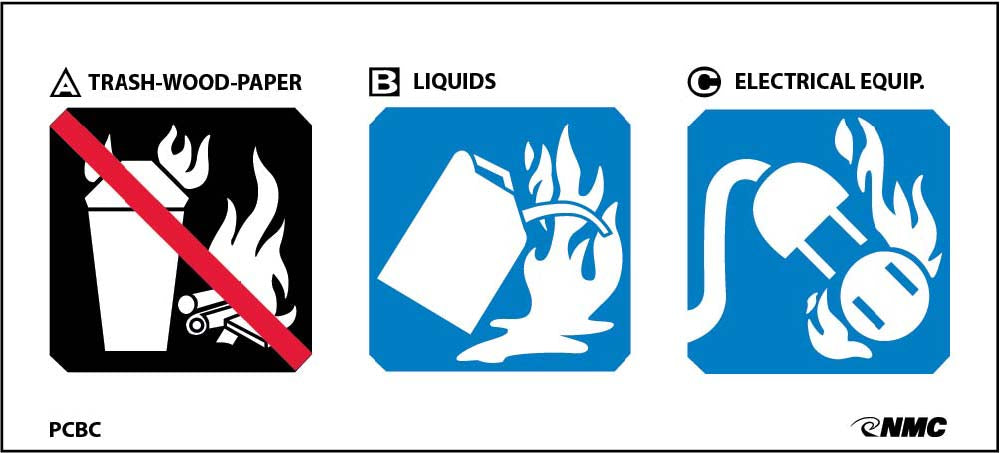 Special Use Extinguisher Sign - Pack of 100