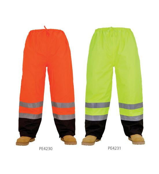 3A Safety PE4231 5XL ANSI Class E Hivis Waterproof Thermal Lime