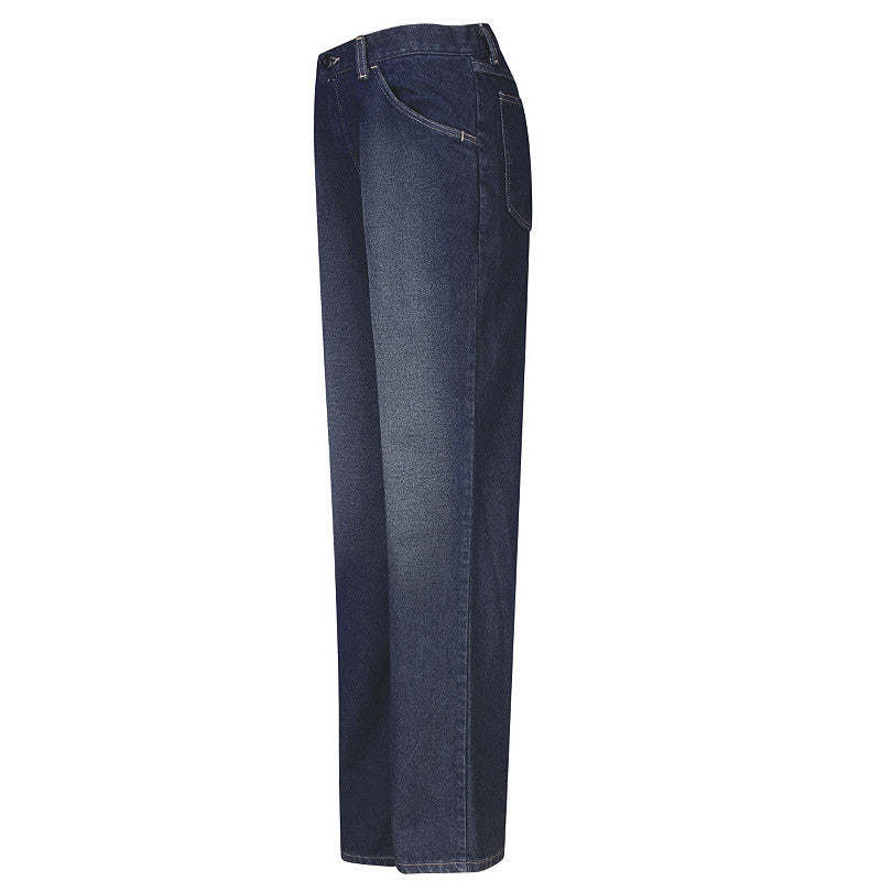Bulwark - Women's Straight Fit Sanded Denim Jean - EXCEL FR - 12.5 oz.