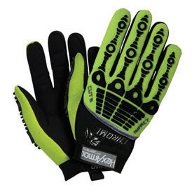 HexArmor Chrome Series Cut 5 Impact Hi-Vis SuperFabric Cut Resistant Gloves