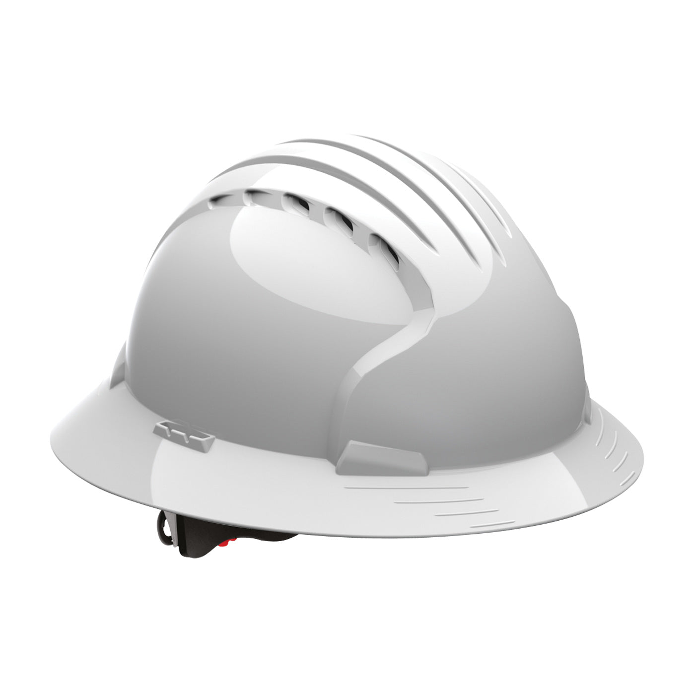 Protective Industrial Products-EVOLUTION™ DELUXE 6161 FULL BRIM HARD HAT (VENTED)