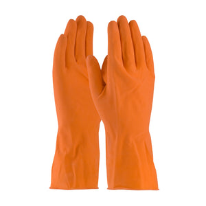 PIP 48-L185T Assurance Unsupported Latex Gloves - Flock Lined with Honeycomb Grip - 18 Mil