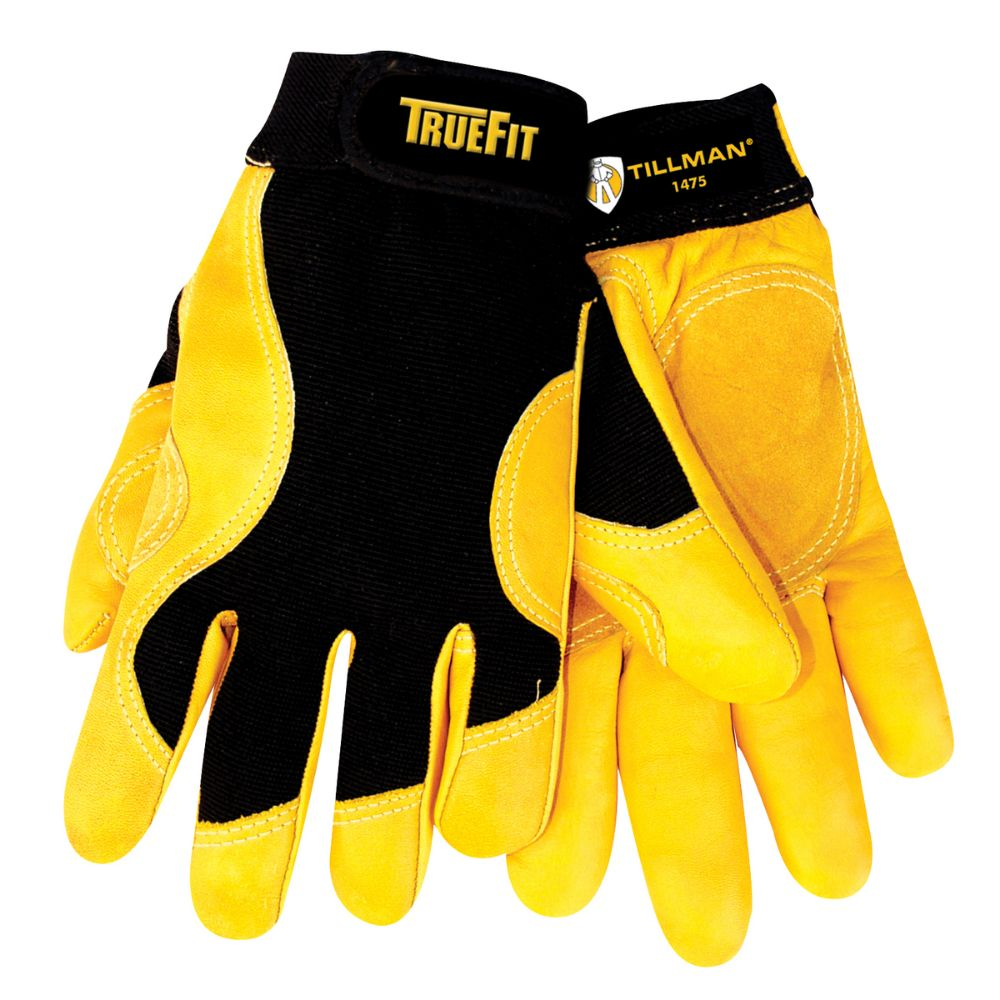 Tillman TrueFit Top Grain Cowhide Gloves with Smooth Surface Fingers