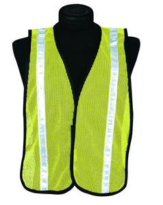 ML Kishigo - P-Series Mesh/Economy High Intensity Striped Vest color Lime