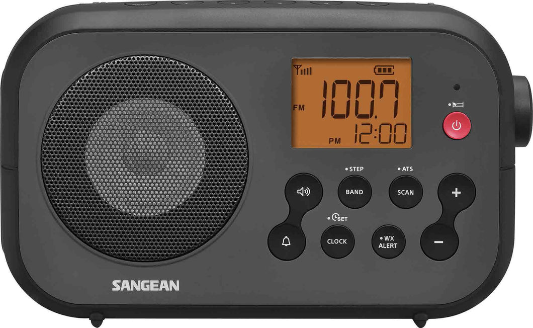 Sangean-PR-D12 AM / FM NOAA Weather Alert Digital Tuning Portable Radio