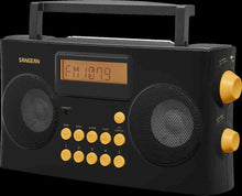 Load image into Gallery viewer, Sangean-PR-D17 AM / FM-RDS Portable Radio Specially Designed for the Visually Impaired with Helpful Guided Voice Prompts