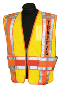 ML Kishigo - PSV Pro 800 Series Vests color Fluorescent Orange size 2X-Large