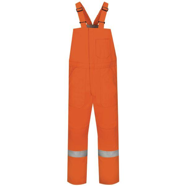 Bulwark Deluxe Insulated Bib Regular Men's Overall With Reflective Trim - Excel Fr Comfortouch