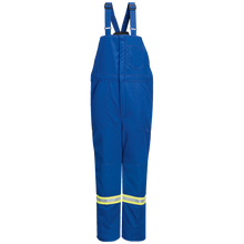 Load image into Gallery viewer, Bulwark - Deluxe Insulated Bib Overall with Reflective Trim - Nomex III