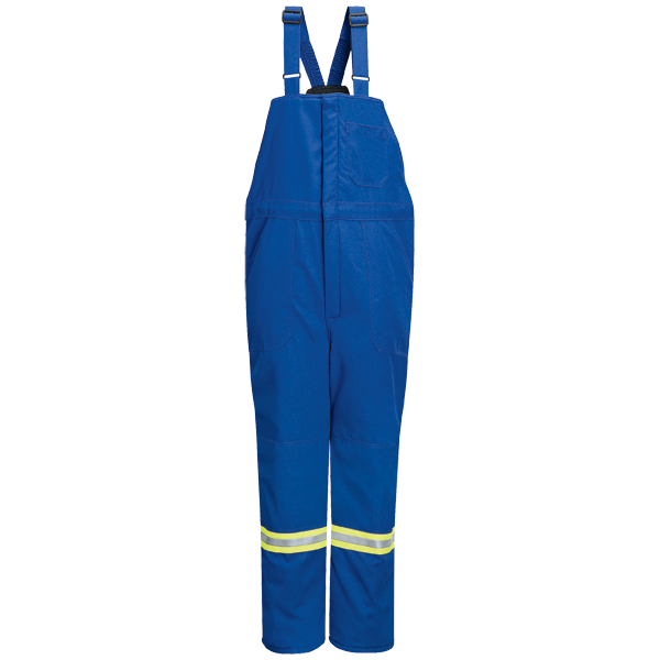 Bulwark - Deluxe Insulated Bib Overall with Reflective Trim - Nomex III