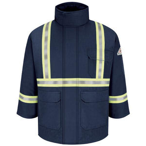 Bulwark Deluxe Parka With Csa Compliant Reflective Trim - Excel Fr Regular Comfortouch