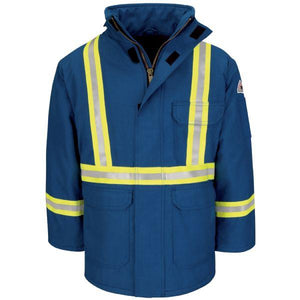 Bulwark Deluxe Parka With Csa Reflective Trim - Regular Nomex Iiia