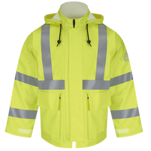 Load image into Gallery viewer, Bulwark - Hi-Visibility Flame-Resistant Rain Jacket HRC2