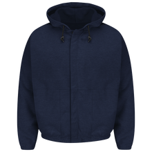 Load image into Gallery viewer, Bulwark - Zip-Front Hooded Fleece Sweatshirt
