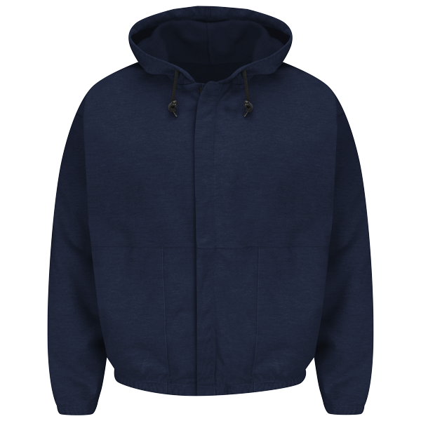 Bulwark - Zip-Front Hooded Fleece Sweatshirt