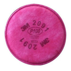 3M - Filter P100 Filter Acid Gas relief